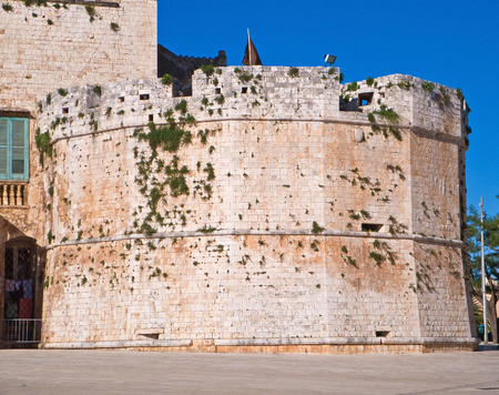 This is the Aragonese Conversano Castle in Apulia.