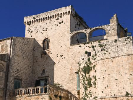 conversano: The Aragonese Castle of Conversano. Apulia.
