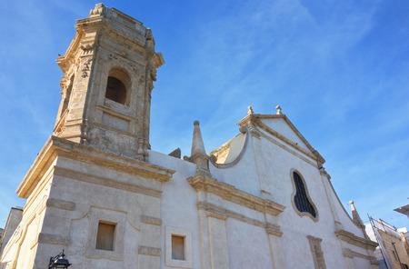 Church of St. Salvatore. Monopoli. Puglia. Italy.