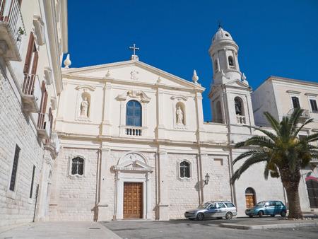 carmine: Sanctuary of the Madonna del Carmine. Trani. Apulia. Editorial