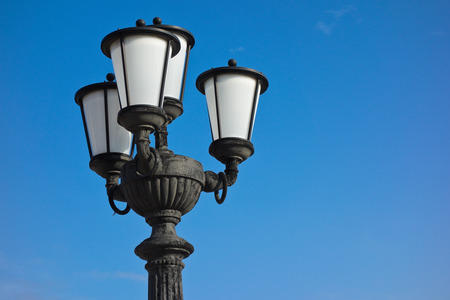 desgn: Streetlight. Stock Photo
