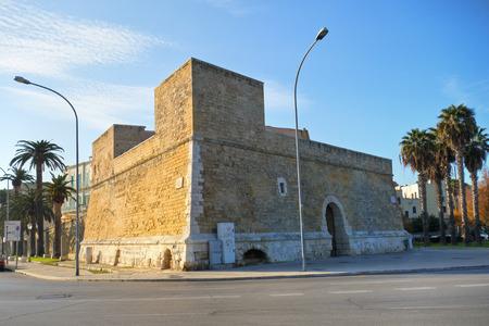 bari: Blockhouse of SantAntonio. Bari. Puglia. Italy.