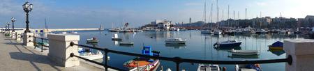 bari: Panoramic view of Bari. Puglia. Italy. Stock Photo