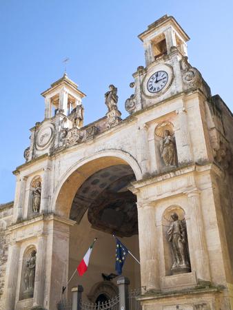 matera: The Sedile Palace. Matera. Basilicata.