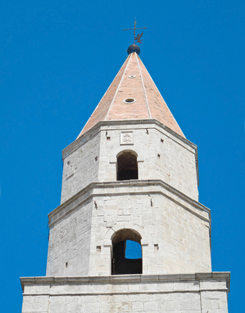andrew: Bell tower of St Andrew Cathedral. Venosa. Basilicata.