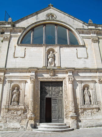 matera: St. Chiara Church. Matera. Basilicata. Stock Photo