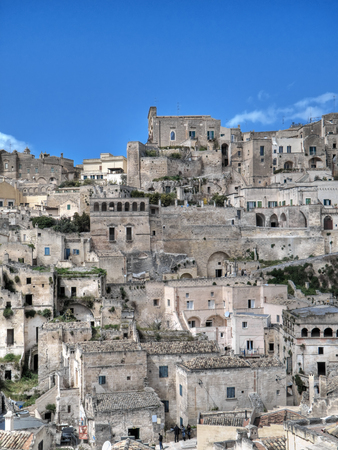 sassi: Sassi of Matera. Basilicata.