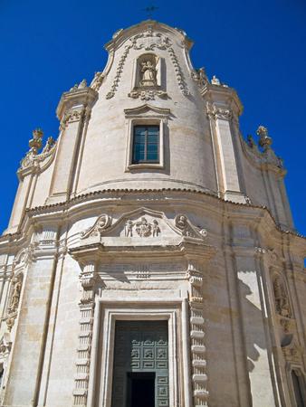 matera: The Church of Purgatory. Matera. Basilicata.