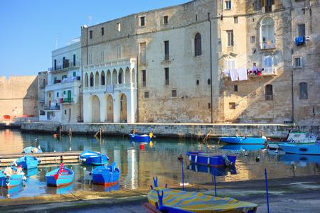 Panoramic view of Monopoli. Puglia. Italy.
