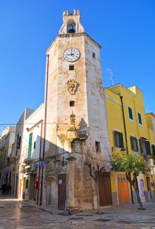 clocktower: Clocktower. Monopoli. Puglia. Italy.