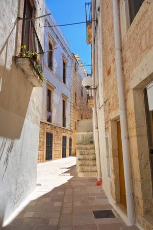 puglia: Alleyway. Turi. Puglia. Italy.