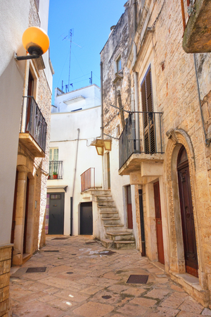 Alleyway. Turi. Puglia. Italy.