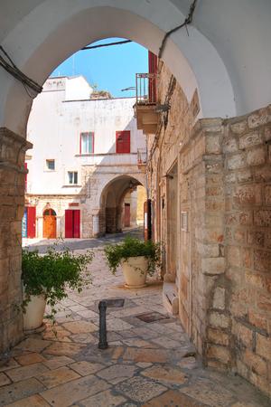 puglia: Alleyway. Giovinazzo. Puglia. Italy. Editorial