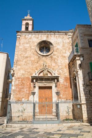 Church of St. Maria di Costantinopoli. Giovinazzo. Puglia. Italy. Stock Photo