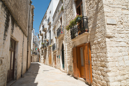 Alleyway. Giovinazzo. Puglia. Italy. Editorial
