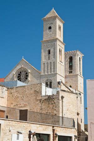 Cathedral of St. Maria Assunta. Giovinazzo. Puglia. Italy.