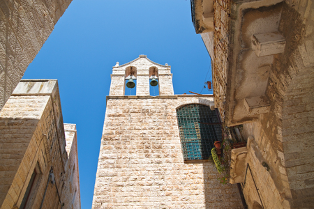 Church of Carmine. Giovinazzo. Puglia. Italy. Editorial