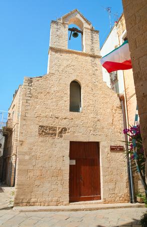 Church of St Lorenzo. Giovinazzo. Puglia. Italy.