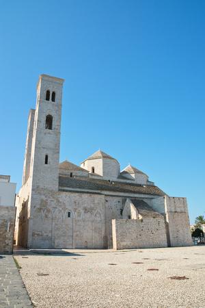 urbanistic: Duomo of St. Corrado. Molfetta. Puglia. Italy.