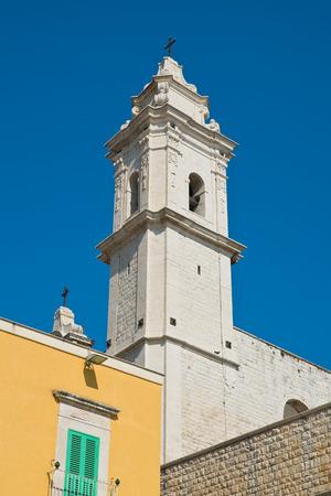Church of St. Pietro. Molfetta. Puglia. Italy.