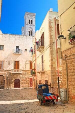 puglia: Alleyway, Molfetta. Puglia. Italy.