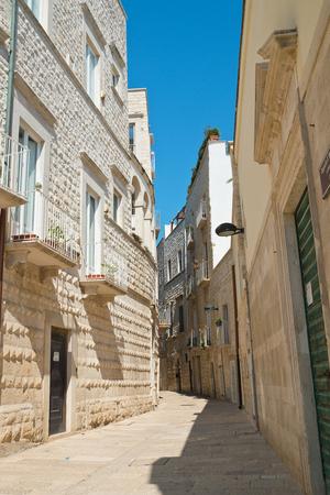 architectural architectonic: Alleyway, Molfetta. Puglia. Italy.