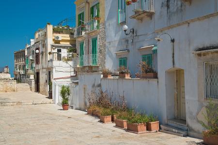 puglia: Alleyway. Molfetta. Puglia. Italy.