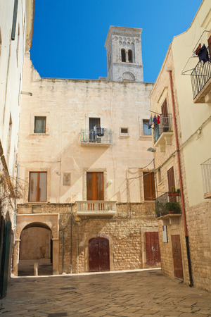 passageway: Alleyway. Molfetta. Puglia. Italy.