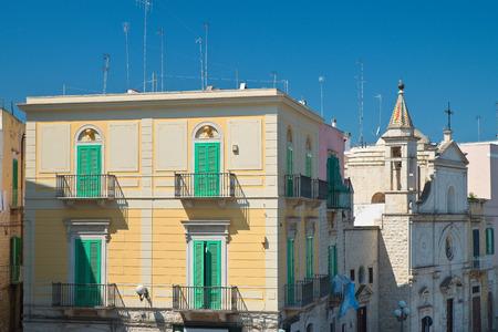 puglia: View of Molfetta. Puglia. Italy.