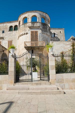 Catapano palace. Rutigliano. Puglia. Italy.