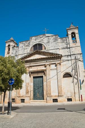carmine: Church of Carmine. Rutigliano. Puglia. Italy.