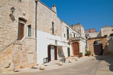 passageway: Alleyway. Sammichele di Bari. Puglia. Italy.