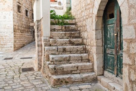 passageway: Alleyway. Rutigliano. Puglia. Italy.
