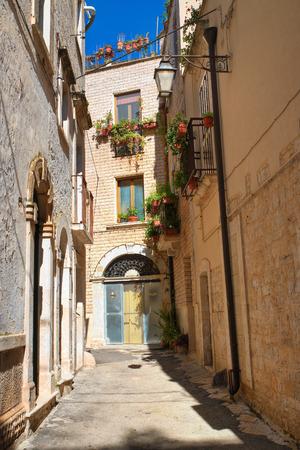passageway: Alleyway. Acquaviva delle fonti. Puglia. Italy.
