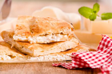 Cheese focaccia bread.