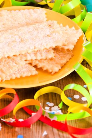 Carnival pastry.