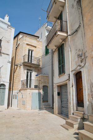 Alleyway. Conversano. Puglia. Italy.
