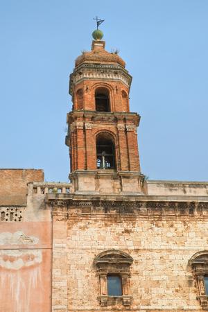Church of SS. Cosma e Damiano. Conversano. Puglia. Italy. Stock Photo