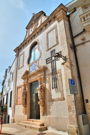 Church of Passione. Conversano. Puglia. Italy.