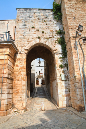 Porta della Gabella. Conversano. Puglia. Italy.
