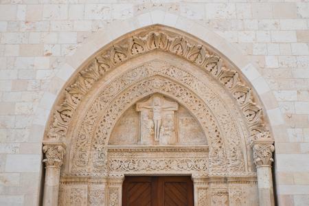 Basilica Cathedral of Conversano. Puglia. Italy. Stock Photo