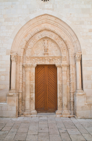Basilica Cathedral of Conversano. Puglia. Italy.  Stock Photo