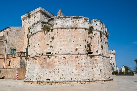 Castle of Conversano. Puglia. Italy.  Stock Photo