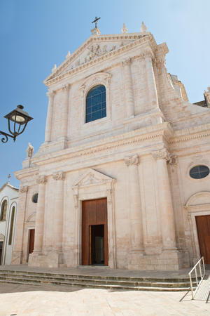 Mother church of Locorotondo. Puglia. Italy.