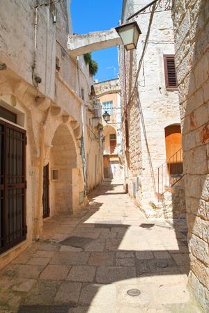 Alleyway. Cisternino. Puglia. Italy.