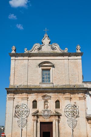 Church of St. Francesco. Martina Franca. Puglia. Italy. Stock Photo
