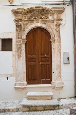 Historical palace. Putignano. Puglia. Italy.
