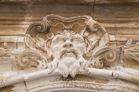Historical palace. Martina Franca. Puglia. Italy.