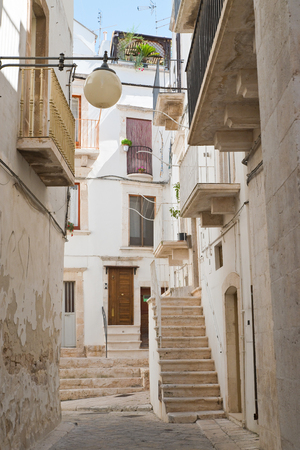 Alleyway. Putignano. Puglia. Italy.  Stock Photo