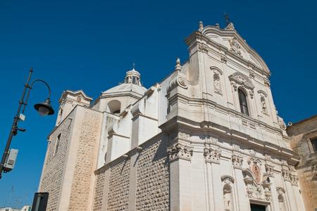 Church of Carmine. Martina Franca. Puglia. Italy.